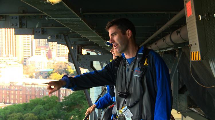 Climbing and the Bridge